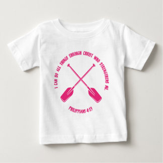 PHILIPPIANS 4:13 - ROWING BABY T-Shirt