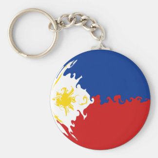Philippines Gnarly Flag Key Chains