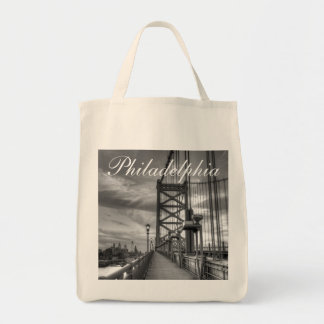 Philly from the bridge tote bag