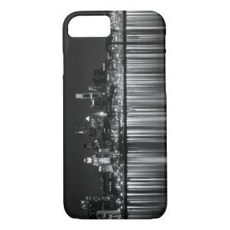 Philly night b/w iPhone 8/7 case
