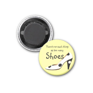 Philosophy for Girls Who Love Shoes Magnet
