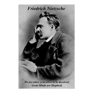 Philosophy Posters Friedrich Nietzsche Great Minds