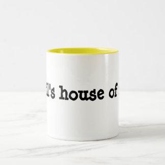 Phil's House Of Fur sml white mug (centered)