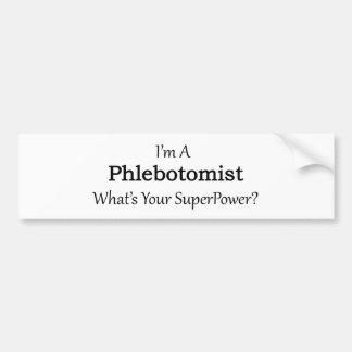 Phlebotomist Bumper Sticker