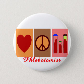Phlebotomist Gifts 6 Cm Round Badge