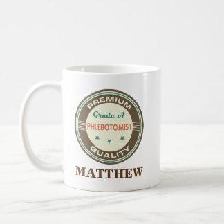 Phlebotomist Personalized Office Mug Gift