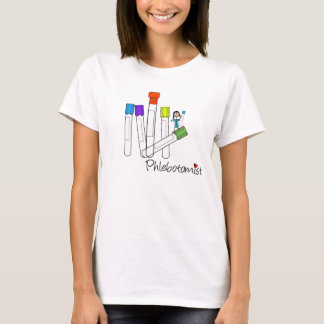 Phlebotomist T-Shirts Vacutainer Art