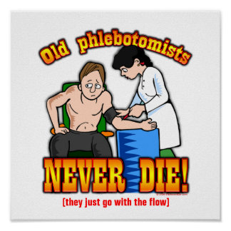 Phlebotomists Poster