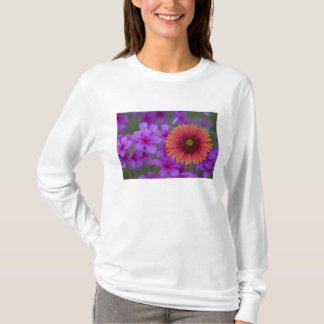 Phlox and Indian Blanket near Devine Texas T-Shirt