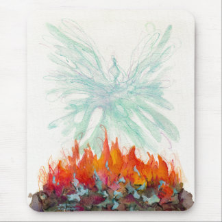 PHOENIX by SHARON SHARPE Mouse Pad