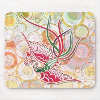 Phoenix Colorful Pattern Mouse Pad