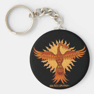 Phoenix fire bird cool keychain design