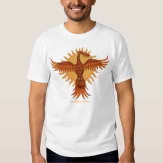 Phoenix fire bird cool kids t-shirt design
