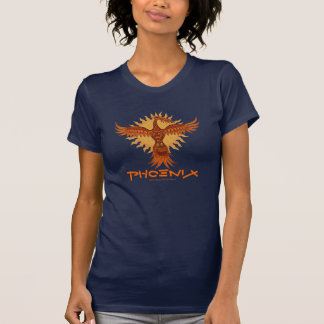 Phoenix fire bird cool t-shirt design