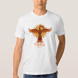 Phoenix fire bird cool t-shirt design