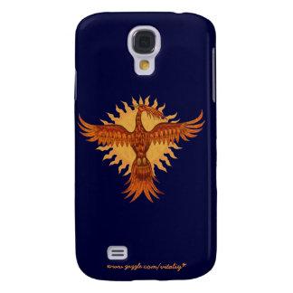 Phoenix fire bird graphic art cool i phone case galaxy s4 case