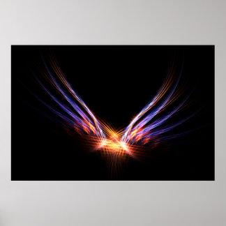 Phoenix Fire Bird Poster
