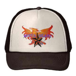 Phoenix Fire Bird Purple Baseball Hat Customized