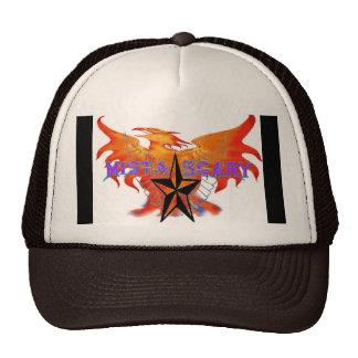 Phoenix Fire Bird Purple Baseball Hat - Customized
