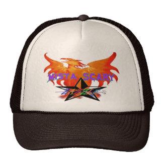 Phoenix Fire Bird Purple Zazzle Star Baseball Hat