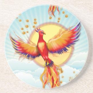 Phoenix Fire Bird Rising Coaster