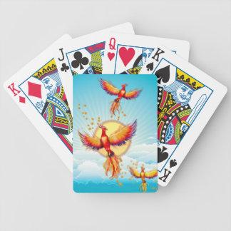 Phoenix Fire Bird Rising Deck Of Cards