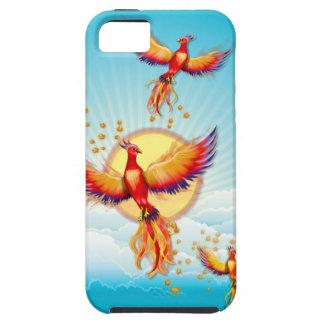 Phoenix Fire Bird Rising iPhone 5 Cover
