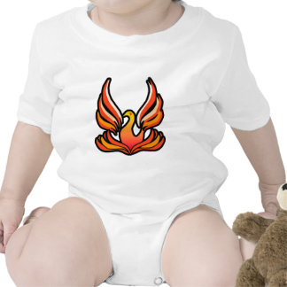 Phoenix - Fire Bird Bodysuits
