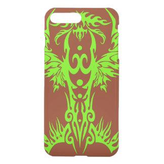 phoenix flame green iPhone 7 plus case