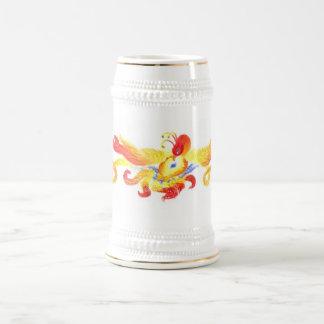 Phoenix Heart Stein Beer Steins