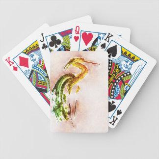 Phoenix Heron Card Decks