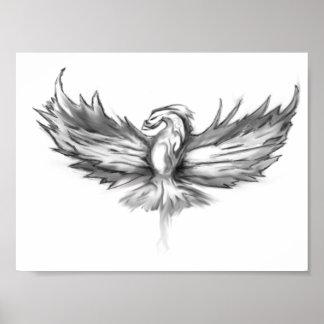 Phoenix Rising - 8 x 6 Poster