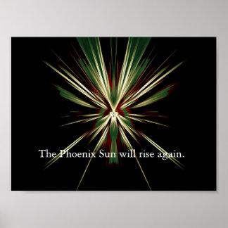 Phoenix Sun Poster