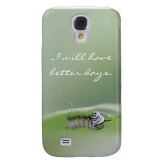 Phone Case - I Will Have Better Days Caterpillar