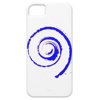 Phone Case with Purple Twirl iPhone 5 Case