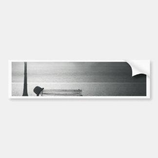 Photo art black & white art deco, vintage, memory bumper stickers