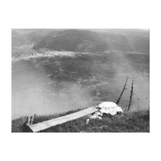 Photo canvas mountain view