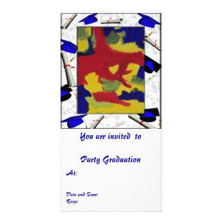 Photo Card Graduation Party Art Form