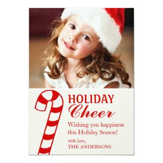 Photo Card   Holiday Cheer 13 Cm X 18 Cm Invitation Card