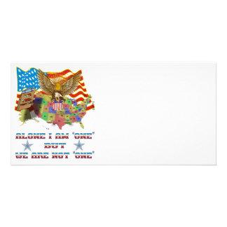 Photo-Card-Tea-Party-T-Set-3-A Custom Photo Card