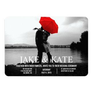 Photo Card Wedding Invitation | Names