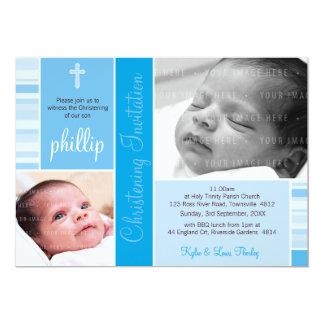 PHOTO CHRISTENING INVITES :: essence 6L