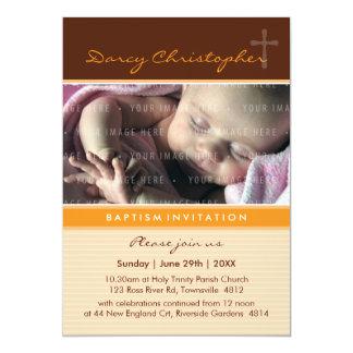 PHOTO CHRISTENING INVITES :: faith 4P