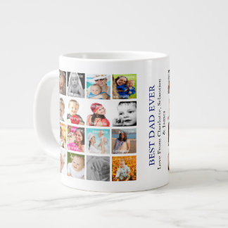 Photo Collage Personalised Create Your Own Large Coffee Mug