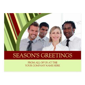 Photo Corporate Season s Greetings Postcards