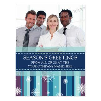 Photo Corporate Season s Greetings Postcards Snow