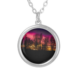photo gifts round pendant necklace