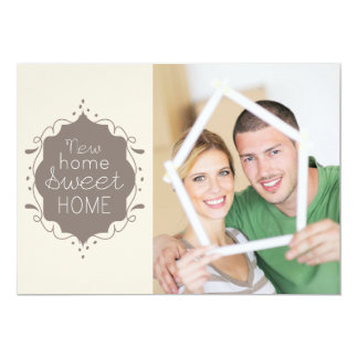 Photo Home Sweet Home Moving Announcement