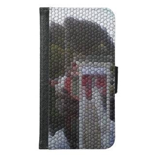 Photo mosaic samsung galaxy s6 wallet case
