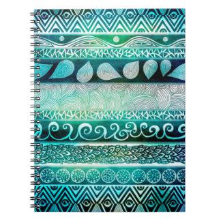 Photo Notebook/Indie Pattern Spiral Note Book
